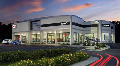 Kia Dealers In Virginia Koons Kia Dealership Eric Photography