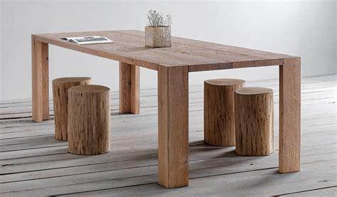 tavolo in legno naturale tavolo legno rovere piallato a mano larice spazzolato olmo
