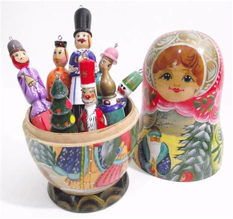 very unusual large christmas ornament in the style of a