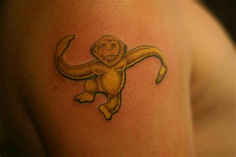small monkey tattoos monkey tattoos and designs page 50