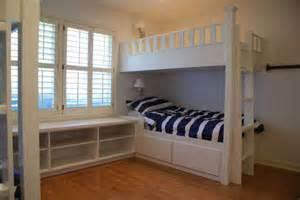 Custom built in bunk beds contemporary bunk beds jacksonville