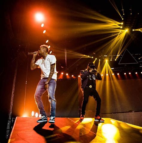 is wizkid the inspiration behind chris browns new haircut video chris brown wizkid perform quot african bad girl quot