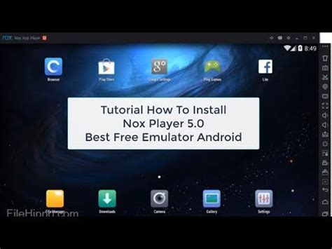 best android tutorial youtube best android emulator 2017 nox app player 5 0 rooted