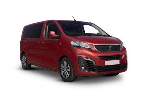 peugeot lease deals peugeot traveller estate lease deals
