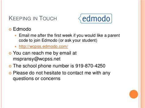edmodo wcpss parent night presentation fall 2013