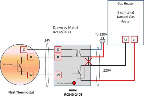 nest thermostat wiring diagram uk line voltage thermostat