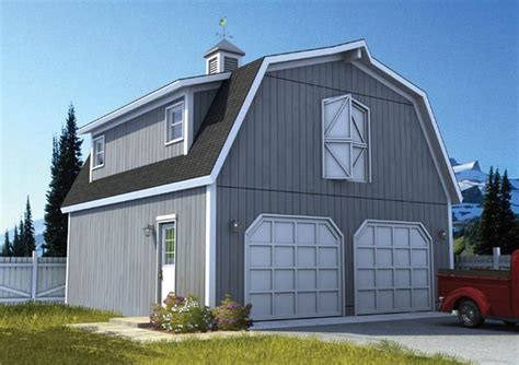 gambrel roof garage plans gable entry garage with loft plan house plans home designs