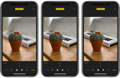 how to change background blur in iphone xs and xr photos cult of mac
