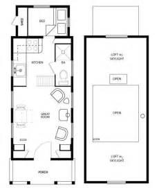 Tiny House Layouts Main Floor Plan Four Lights Tiny House Plans