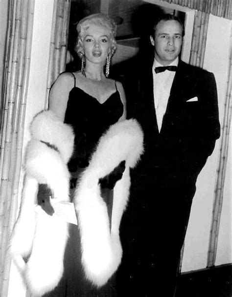 marilyn monroe and marlon brando marilyn pinterest