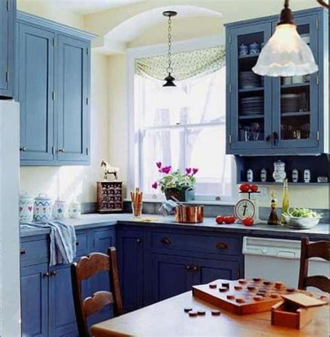 blue kitchen cabinets design home on the range