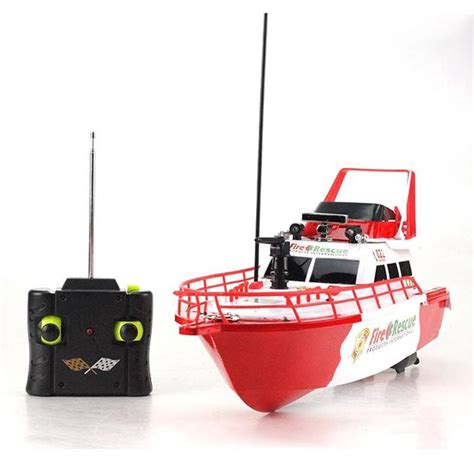 toy boat with fire rs 4022 fire rescue 1 25 electric rtr rc boat rc ship