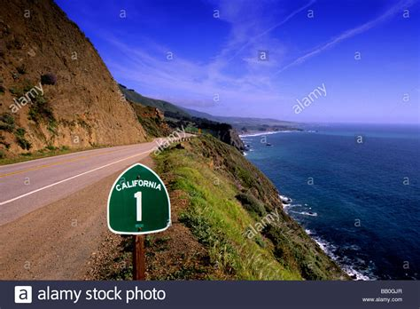 Pch Route 1 - pacific coast highway california route 1 scenic near big sur stock photo royalty free