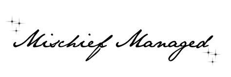 mischief managed tattoo design by banashee on deviantart