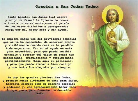oraciones a san judas tadeo oraci 243 n a san judas tadeo
