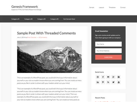 wordpress layout framework 14 best wordpress theme frameworks 2018 athemes