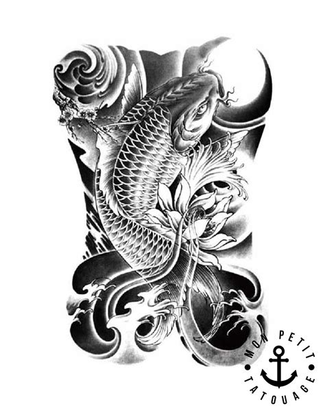 tattoo koil tattoo dessin poissons carpe koil