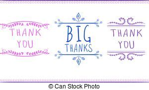 Handwritten Thank You Card Template by Businessman With Signature And Big Pen Set