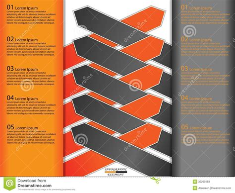 Modern Paper - modern paper business infographics stock photos image