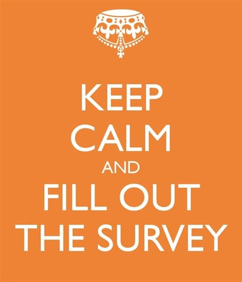 Make Money Filling Out Surveys - fill out the survey keep calm and pinterest