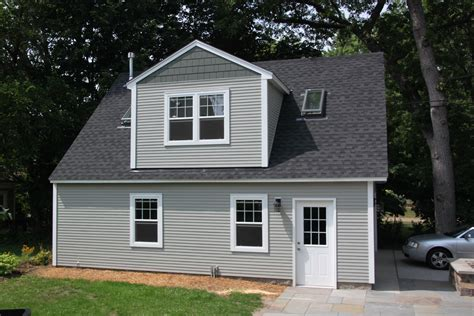 Two Story Garage Cost by 2 Car 2 Story Garage Using Attic Trusses And Dormer