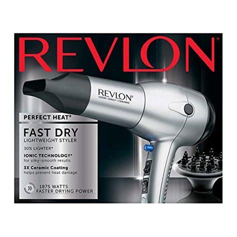 Revlon Hair Dryer Ebay revlon 1875w tourmaline lightweight ionic ceramic hair