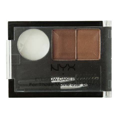 Nyx Cake Powder nyx cosmetics eyebrow cake powder beautylish