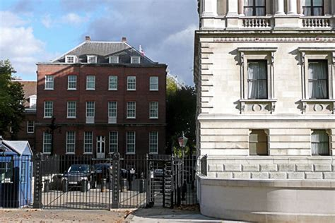 Pool House Plan by No 10 Downing Street Westminster Walk