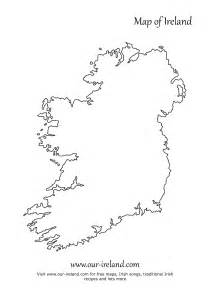 Ireland Blank Map 32 county map of ireland our ireland