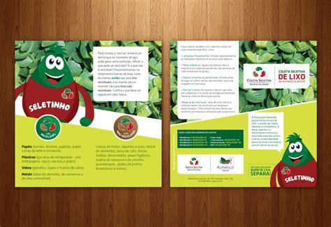 layout banner impresso alphaville jacuhy coleta seletiva gb creative