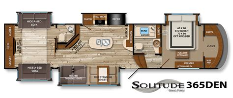 Fifth Wheel Trailer Floor Plans 5th Wheel Camper Floor Plans Galleryhip Com The