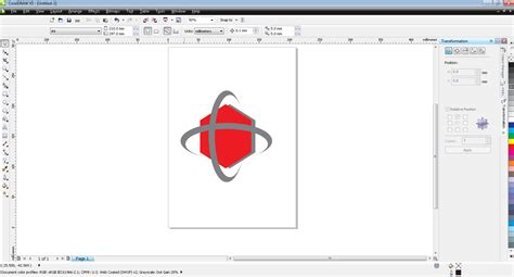 tutorial logo telkomsel dengan coreldraw fatma nuril izzati tutorial membuat logo telkomsel di