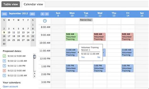 doodle calendar tool create and manage better calendars get smart web