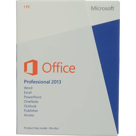 Microsoft Office Pro microsoft office professional 2013 product key 269 16094 b h