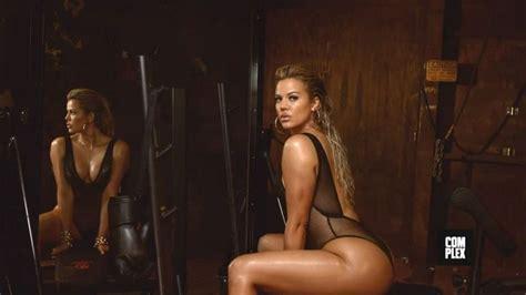most stylish celebrities of 2015 complex khloe kardashian in complex magazine august september