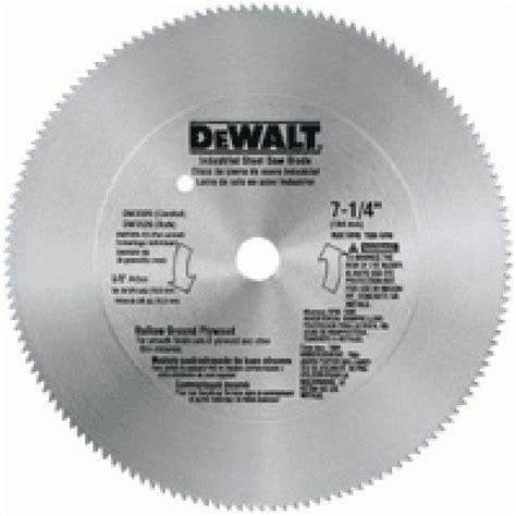 7 1 4 40t Steel Combo Saw Blade Dewalt Dw3325