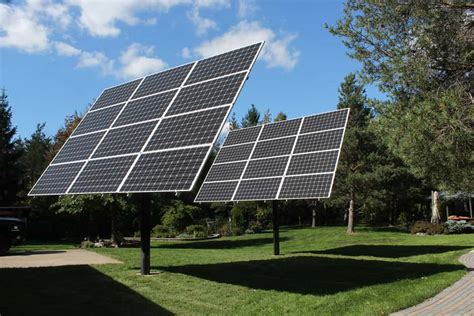 Backyard Solar Panels by Why Mt Solar Pole Mounted Solar Panels Made Sense