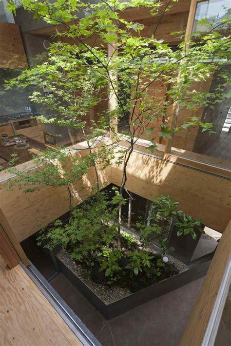 patio japonais jardin japonais interieur maison