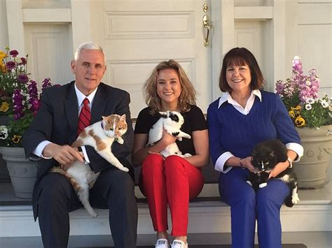 karen pence mike pence s wife wags related mike pence s cat oreo dies aged 13 daily mail online