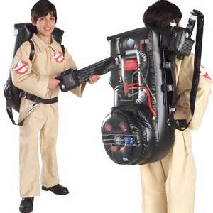 halloween ghostbuster costume kids proton pack fancy