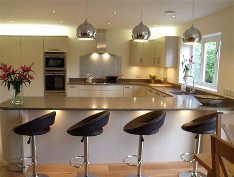 best 25 u shaped kitchen with breakfast bar ideas on