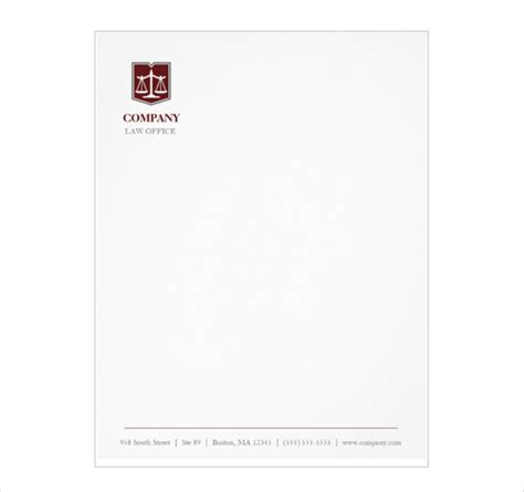Free Firm Letterhead Letterhead Template 8 Free Psd Eps Documents Free Premium Templates