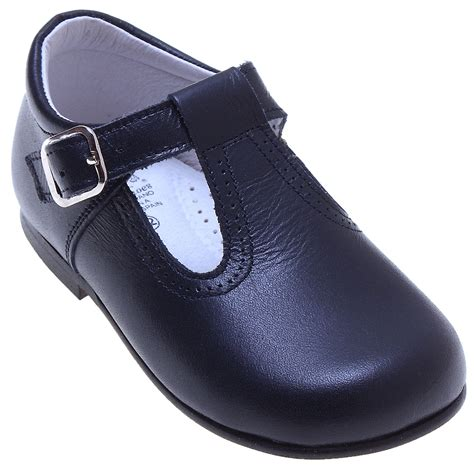 navy baby shoes baby and toddler navy leather t bar shoes cachet