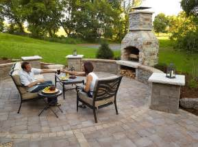 Patio Fireplace by 301 Moved Permanently
