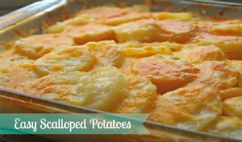 easy scalloped potatoes recipe yummymummyclub ca