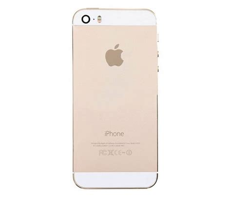 Iphone 5s Housing Replacement by Iphone 5s Back Housing Gold