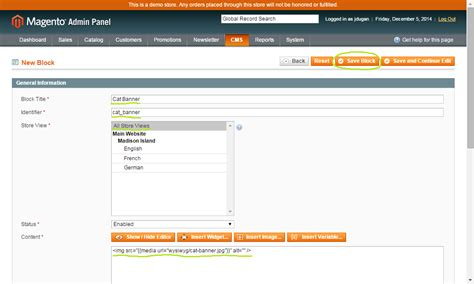 magento layout xml add block getting familiar with magento callout blocks