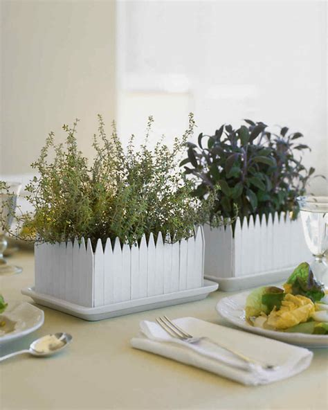 centerpiece ideas martha stewart herb garden centerpiece martha stewart