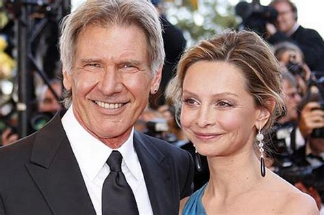 Indy And Ally Mcbeal Engaged by As Calista Flockhart Becomes Harrison Ford S Third We