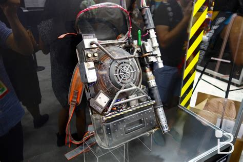 ghostbusters proton pack the new ghostbusters proton pack looks in person